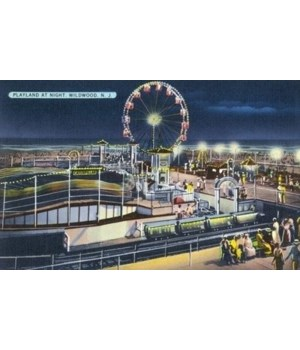 Wildwood, New Jersey - View of Playland