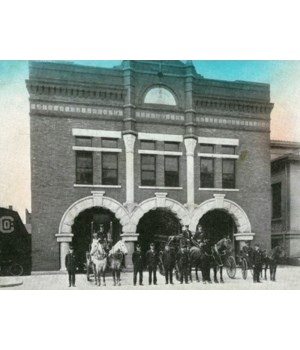 Waterloo, IA - Central Fire Station 1909
