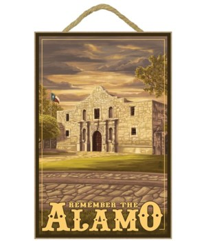 The Alamo Sunset - San Antonio, Texas -