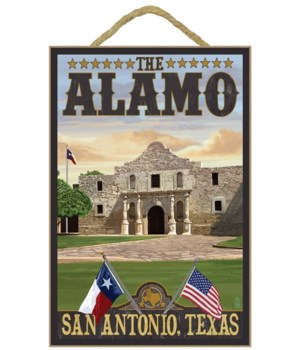 The Alamo Morning Scene - San Antonio, T