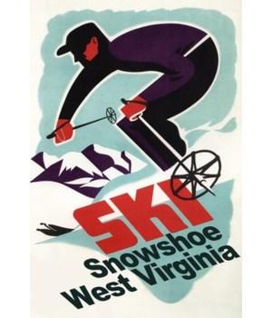 Snowshoe, WV - Vintage Skier