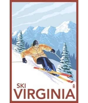 Virginia - Downhill Skier