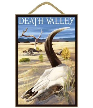 Cow Skull - Death Valley National Park -
