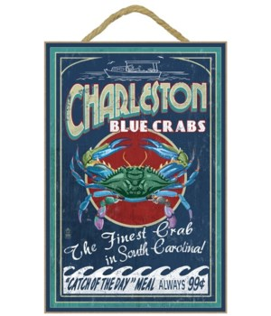 Charleston, South Carolina - Blue Crabs