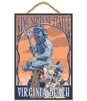 Virginia Beach, Virginia - King Neptune