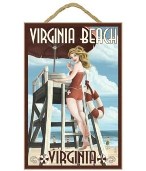 Virginia Beach, Virginia - Pinup Girl Li