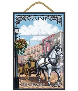 Savannah, Georgia - Horse and Carriage -