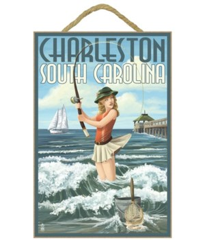 Charleston, South Carolina - Pinup Girl