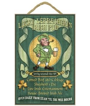 Savannah, Georgia - Leprechaun Irish Pub