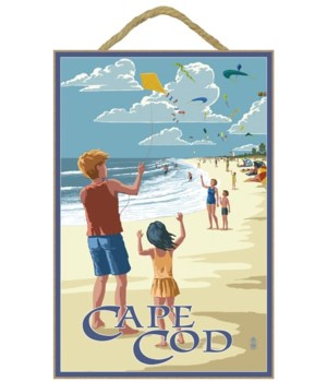 Cape Cod, Massachusetts - Kite Flyers -