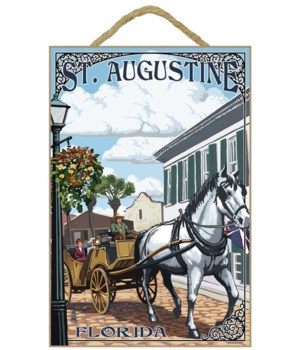 St. Augustine, Florida - Carriage Scene