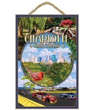 Charlotte, north Carolina - Montage Scen
