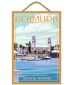Bermuda - King's Wharf - Lantern Press 7