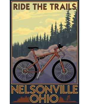Nelsonville, Ohio - Ride the Trails - La