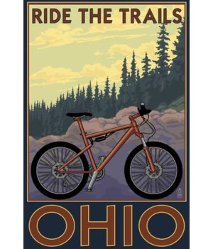 Ohio - Bicycle Ride the Trails - Lantern