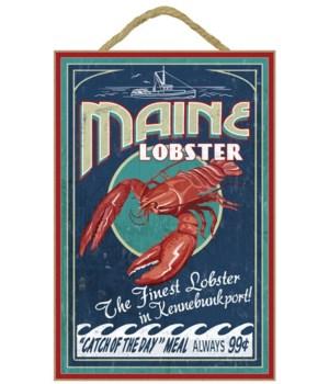 Kennebunkport, Maine - Lobster Vintage S