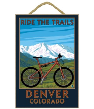 Denver, Colorado - Mountain Bike Scene -