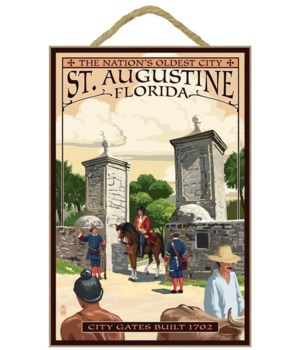 St. Augustine, Florida - City Gates - La