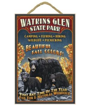 Watkins Glen State Park, New York - Bear
