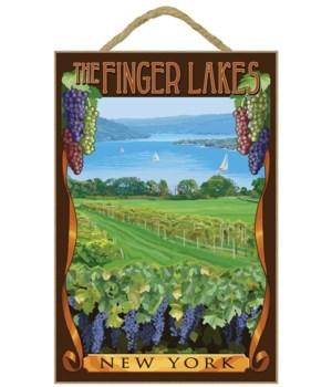 The Finger Lakes, New York - Vineyard Sc