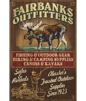 Fairbanks, Alaska - Moose Outfitters Vin
