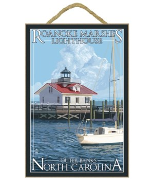 Roanoke Marshes Lighthouse - Outer Banks