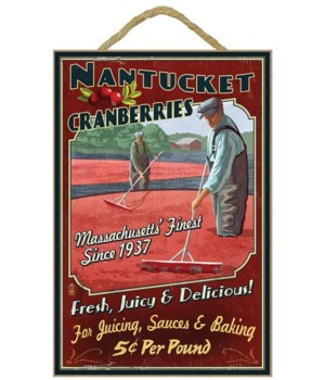 Nantucket, Massachusetts - Cranberry Far