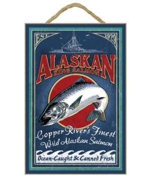 Copper River, Alaska - Salmon Vintage Si