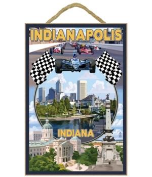 Indianapolis, Indiana - Montage Scenes -