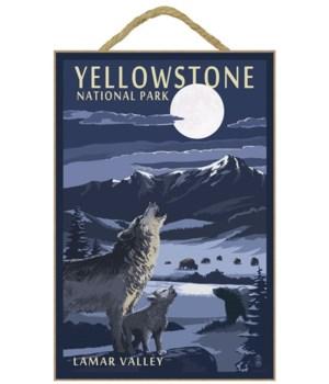 Lamar Valley Scene, Yellowstone National