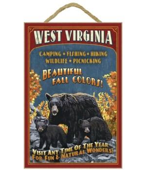 West Virginia - Black Bear Family Vintag