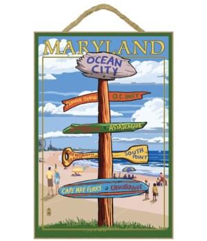 Ocean City, Maryland - Sign Destinations