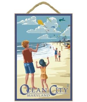 Ocean City, Maryland - Kite Flyers - Lan