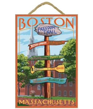 Boston, Massachusetts - Freedom Trail Si