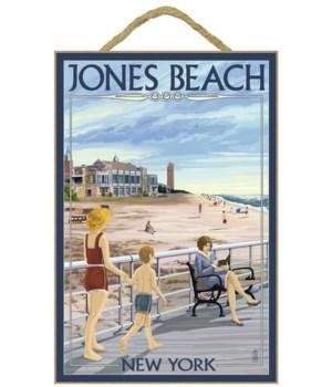 Jones Beach Scene, New York - Lantern Pr