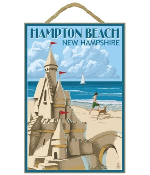 Hampton Beach, New Hampshire - Sand Cast