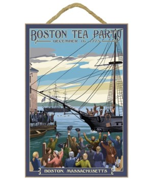 Boston, Massachusetts - Boston Tea Party
