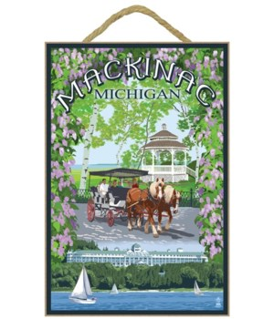 Mackinac, Michigan - Montage Scenes - La