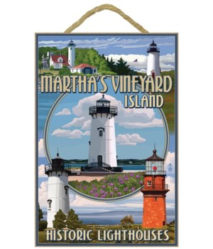 Martha's Vineyard - Lighthouses Montage