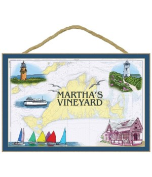 Martha's Vineyard - Nautical Chart - Lan