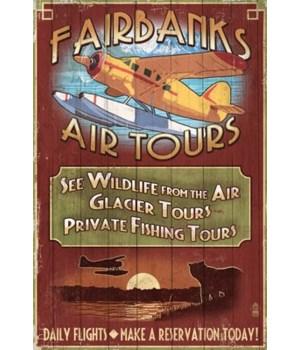 Fairbanks, Alaska - Air Tours Vintage Si
