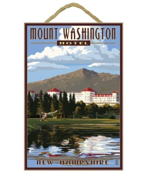 Mount Washington Hotel in Summer - Brett