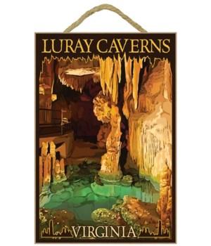 Luray Caverns, Virginia - Wishing Well -