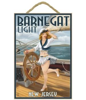 Barnegat Light, New Jersey - Pinup Girl
