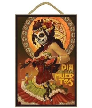 Dia De Los Muertos Marionettes - Lantern