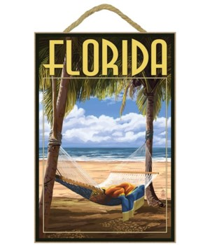 Florida - Hammock Scene - Lantern Press