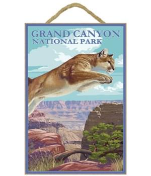Grand Canyon National Park - Cougar Jump