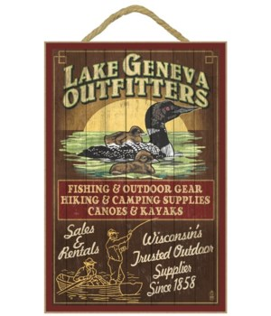 Lake Geneva, Wisconsin - Loon Outfitters