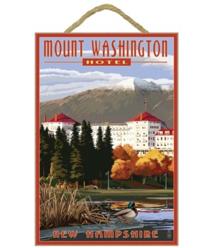 Mount Washington Hotel in Fall - Bretton