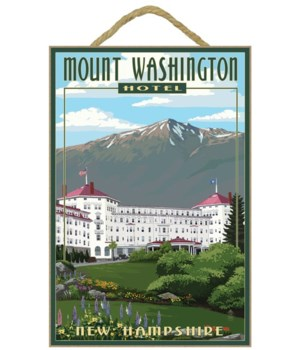 Mount Washington Hotel in Spring - Brett